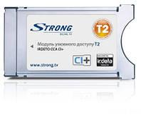 CAM модуль STRONG Irdeto CCA CI+ для доступа к эфирному ТВ стандарта DVB-T2