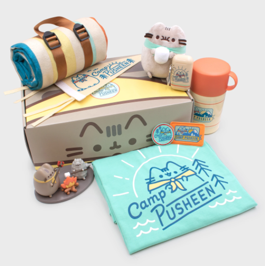 PUSHEEN Camp Mystery BOX