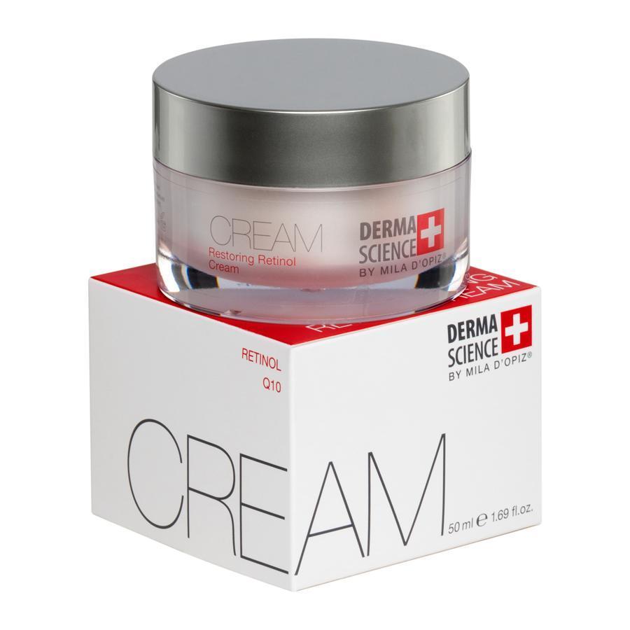 Высокоэффективный крем Retinol Day Cream Derma Science by Mila D`Opiz Vivasan Switzerland 50 ml
