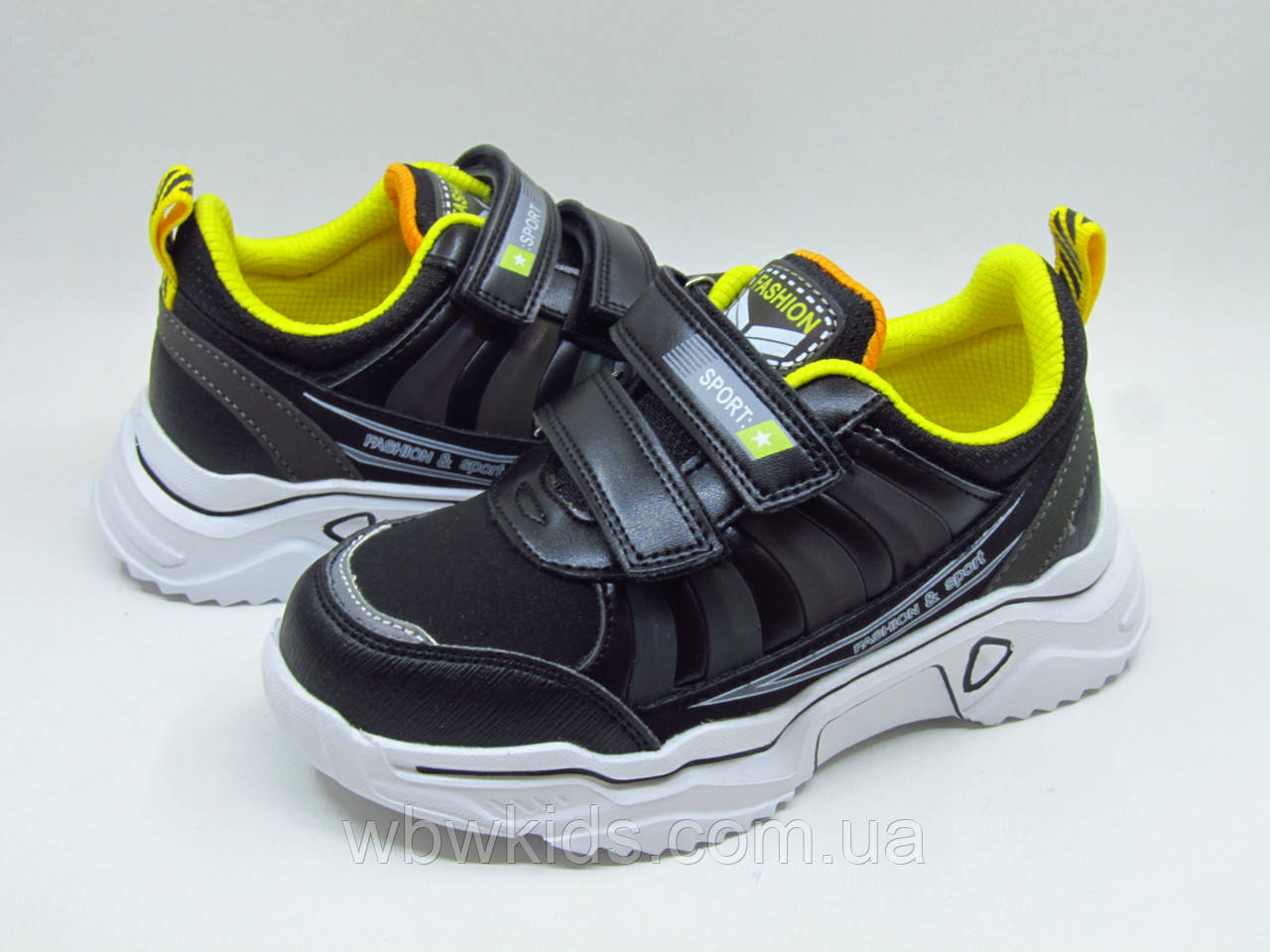 Кроссовки детские Weestep R810253587 для мальчика черные