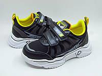 Кроссовки детские Weestep R810253587 для мальчика черные, фото 1