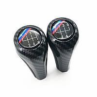 Универсальная Штатная Ручка переключения КПП БМВ 5/6 ступеней BMW M Sport Carbon Performance