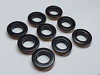 Нержавіючий люверс 15 мм чорний (1000 шт.уп.)