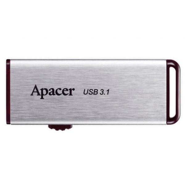 USB флеш накопитель Apacer 32GB AH35A Silver USB 3.1 Gen1 (AP32GAH35AS-1)