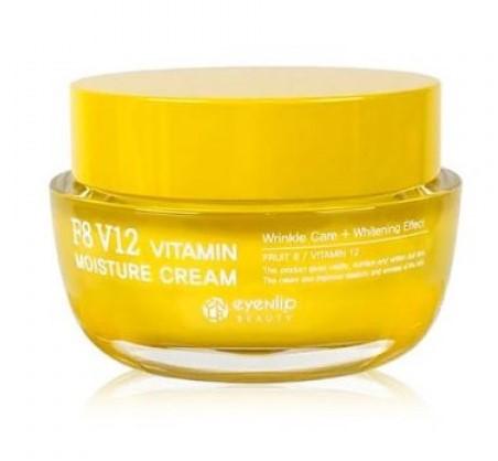 Увлажняющий крем с витаминами Eyenlip F8 V12 Vitamin Moisture Cream 50 мл