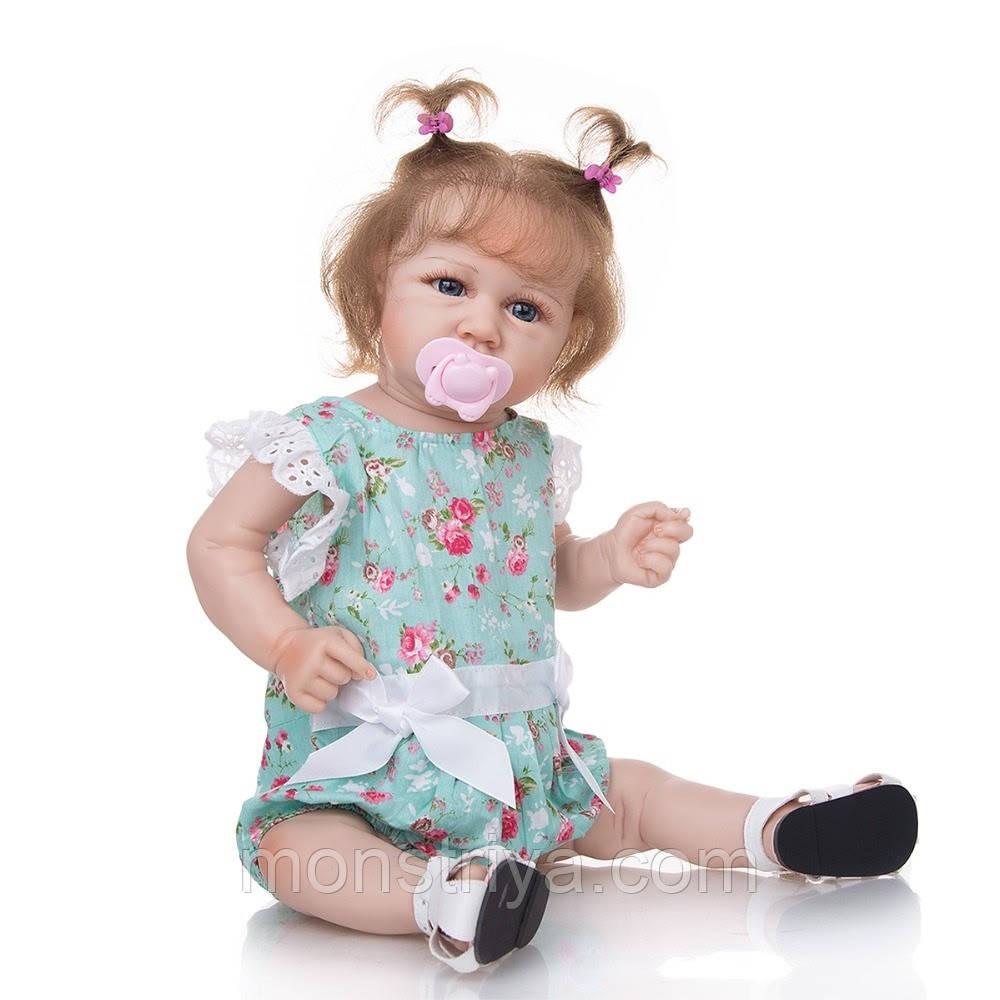 Лялька реборн дівчинка повністю з вініл-силікону /Лялька,пупс reborn