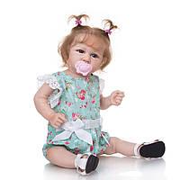 Лялька реборн дівчинка повністю з вініл-силікону /Лялька,пупс reborn, фото 1