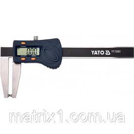 Штангенциркуль электронный для тормозных дисков 180 мм YATO