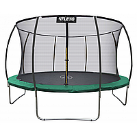 Батут Atleto 252см (8ft) диаметр с внутренней сеткой, фото 1