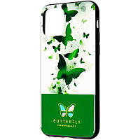 Чехол на  iPhone XS Max Green Butterfly Case