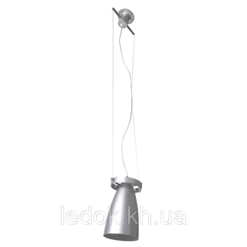 Люстра подвесная техно VDL-10-01F SILVER