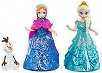 Disney Frozen Glider Anna, Elsa and Olaf Doll Set набор Анна, Эльза и Олаф