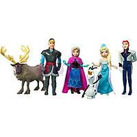 Disney Frozen Complete Story Playset Anna Elsa Olaf Kristoff Prince Hans Sven Холодное сердце Анна, Эльза