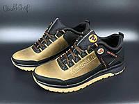 Шкіряні чоловічі кросівки Merrell спортивні кросівки меррелл з натуральної шкіри