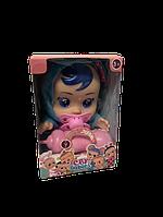Кукла Пупс Плакса ABC Cry Babies Плакса Голубой мишка