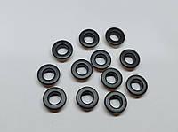 Нержавіючий люверс 6 мм чорний (100 шт.уп.)