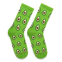 """Шкарпетки Дід Носкарь чоловічі 41-45 """"Avokado"""" зелені"""