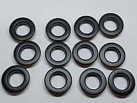 Нержавіючий люверс 12 мм чорний (100 шт.уп.)