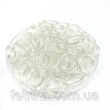 Пластиковое кольцо прозрачное, Ø 1 см