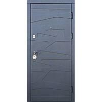 Двери входные Маренго Цемент/ Миндаль