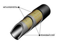 Рукав высокого давления с металлооплетками Z-II-31.5-11 ГОСТ 6286-73