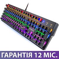 Механическая игровая клавиатура с подсветкой Vinga KBGM160 USB