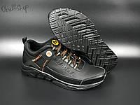 Чоловічі кросівки Merrell Tracking чорні спортивні кросівки в стилі Мерелл для спорту і активного відпочинку