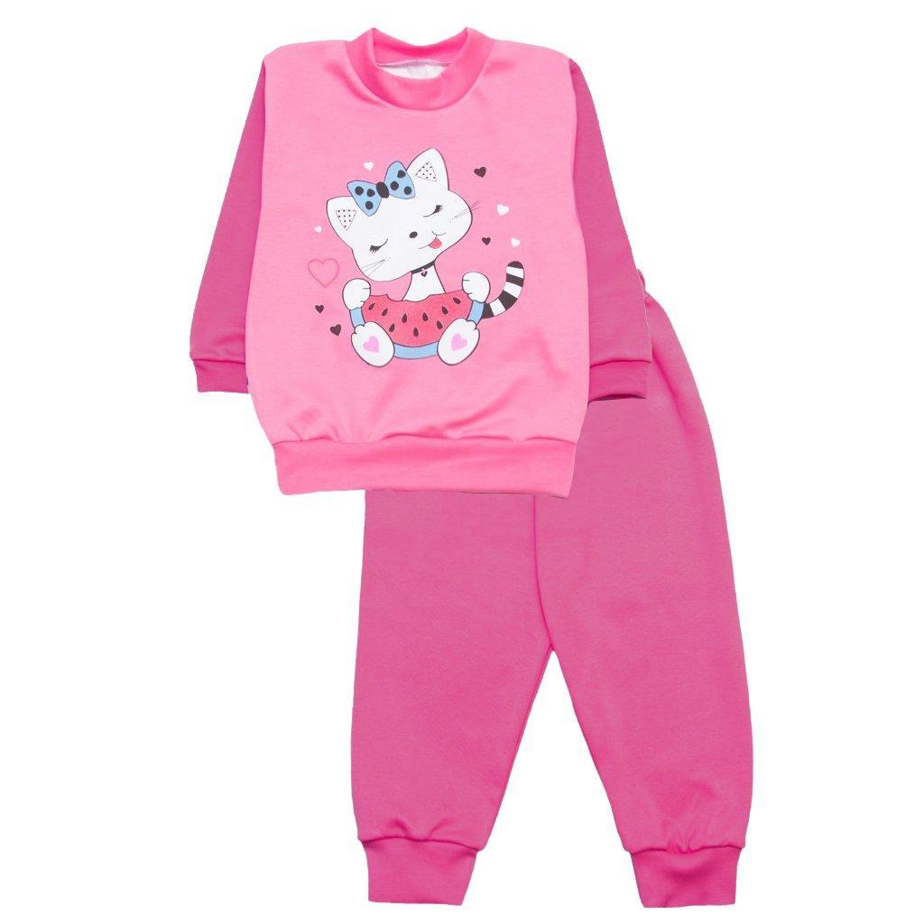 Пижама для девочки без начеса оптом
