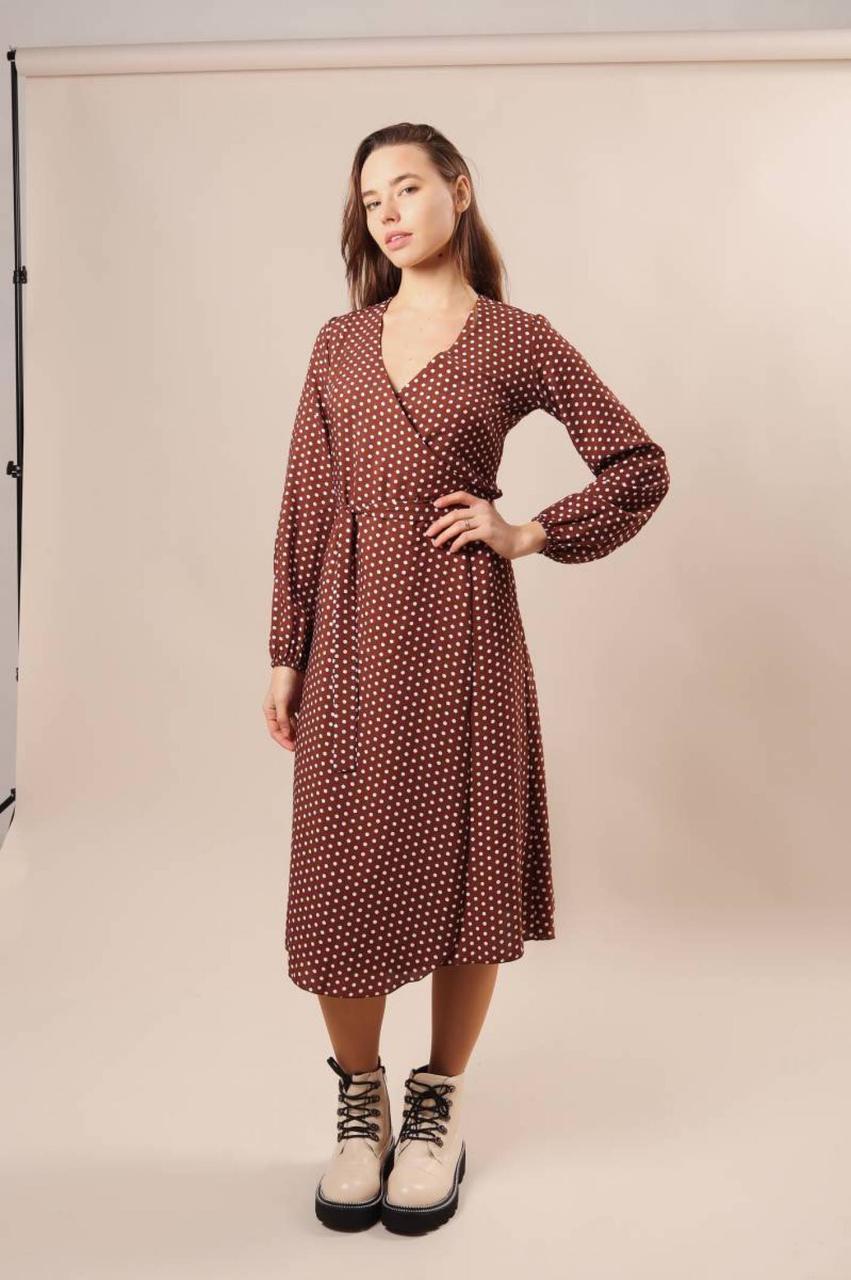 """Платье на запах """"Шанхай"""" 5236"""