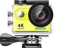 Action Camera Eken H9R Ultra HD с пультом (Желтый), фото 1