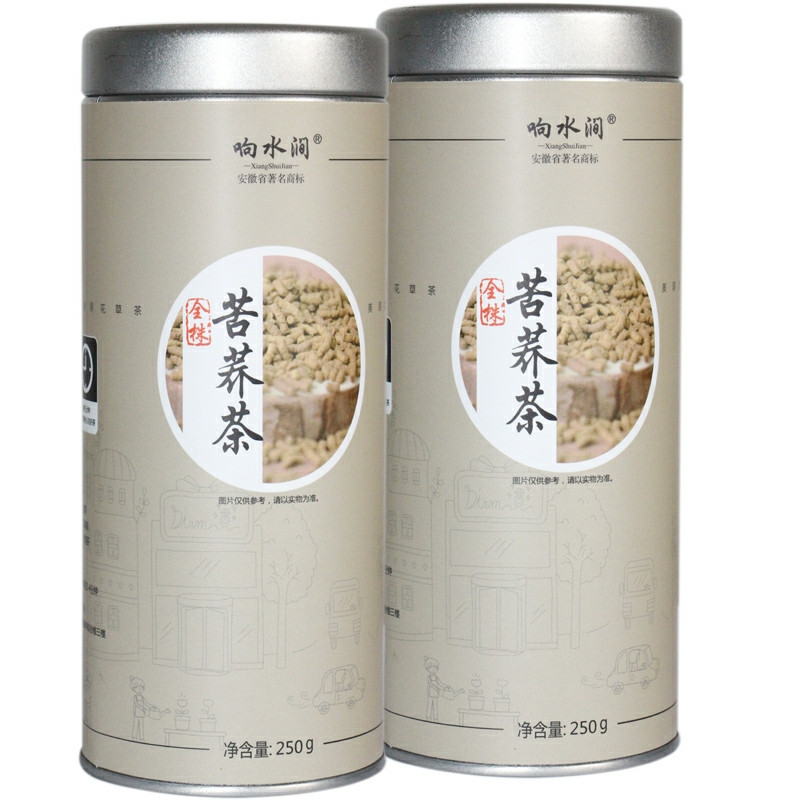 Гречишный чай, Ку Цяо, черный 250 г гранулированный