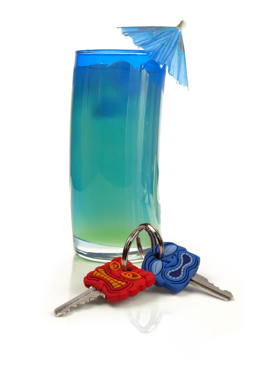 Набор накладок на ключи Fred & Friends Маски 2 шт