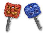 Набор накладок на ключи Fred & Friends Маски 2 шт, фото 2
