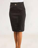 Женская утеплённая юбка Кира из шерсти, фото 1