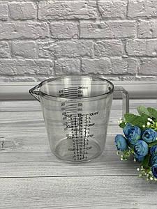 Мерный стакан пластиковый с ручкой Maestro MR-1740-600