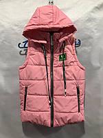 """Жилетка дитячий демісезонний LIKEE на дівчинку 6-10 років (6кол) """"MUSTANG"""" купити недорого від прямого постачальника"""