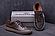 Мужские кожаные кеды ZG Aircross Brown, фото 2