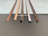 Планка на забор из профнастила,п-образная планка заборная планка