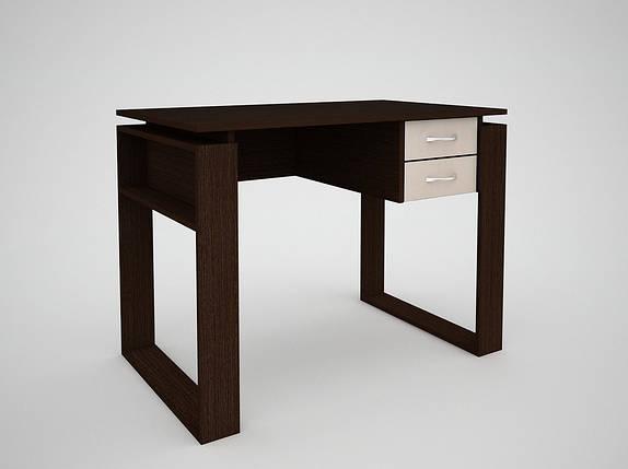 Письмовий прямий офісний стіл FlashNika / ФлешНика СН ЕКО 4, фото 2