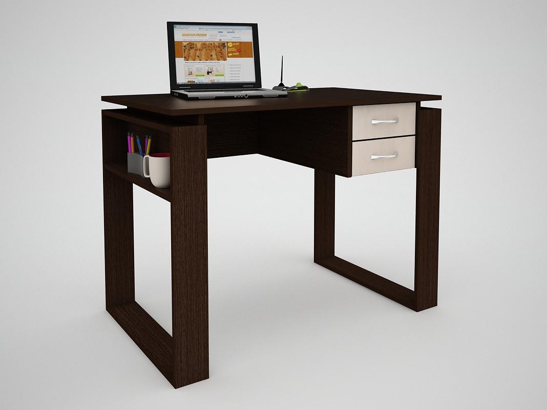 Письмовий прямий офісний стіл FlashNika / ФлешНика СН ЕКО 4