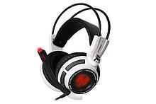 Навушники ігрові Somic G941 7.1 Surround Sound White Black USB
