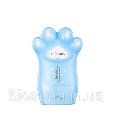 Крем для рук Luofmiss Goat Milk Hand Cream Milk с экстрактом козьего молока 80 g