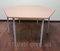 Стол детский шестигранный (1020*900)