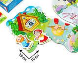 Макси пазл .Колобок. для самых маленьких, VT2909-11, Vladi Toys, фото 3