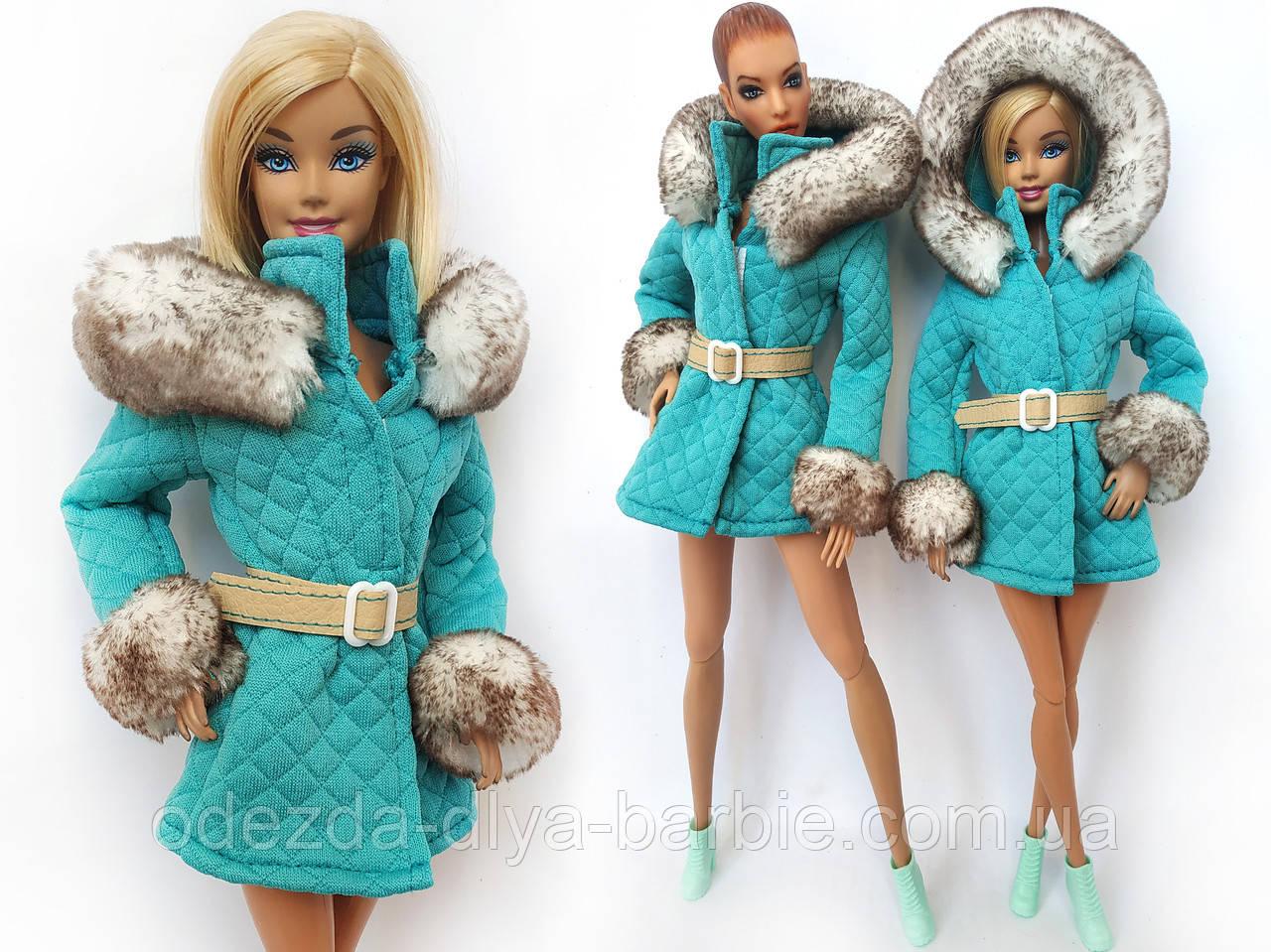 Одежда для кукол Барби - пальто*