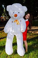 Белый большой плюшевый мишка 2метра, подарок на день рождения, 8марта ,день влюбленых