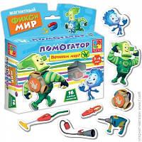 Развивающая игра. Магнитный Фикси- Мир Помогатор, VT3102-01, Vladi Toys