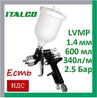 Italco D-929-1.4LM. lvmp. Краскопульт для покраски автомобиля пневматический, профессиональный, италко, фото 1