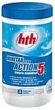 Комплексный препарат 5 в 1 по уходу за водой / HTH Minitab Action 5 (1,2 кг), фото 2