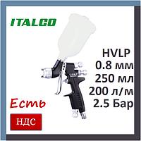 Italco D-951-MINI-0.8LM. lvmp. Мини краскопульт для покраски авто, среднего давления, италко, профессиональный, фото 1